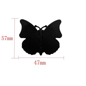 Image 5 - 10 100pcs Butterfly mobile phone holder butterfly folding stretch bracket DIY rotating phone finger ring holder with sticker