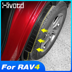 For Toyota Rav4 2019 2020 Accessories Car Mud Flaps Rear Tire Fender Cover Splash Mudguard Exterior Protection Modification Part