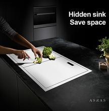 Asras 6047y + 3060 sus304 ручная кухонная раковина скрытая две