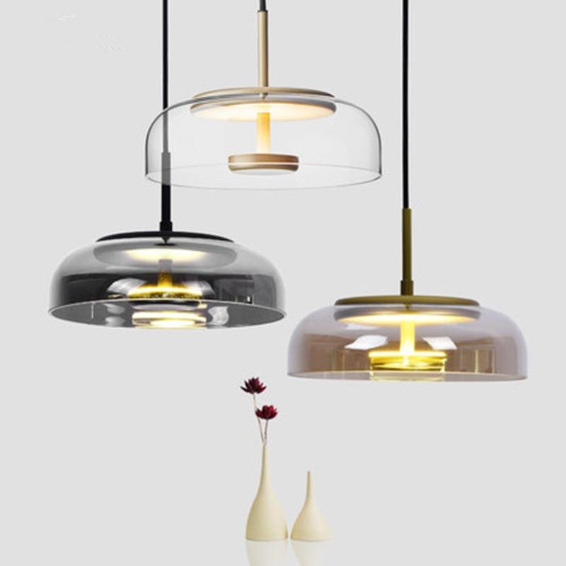 Post modern Luxury Glass Chandelier Lights Nordic Style Creative Bar Lustres Pendentes Lamp Living Room Hanglamp Decor Fixture|Pendant Lights| |  - title=
