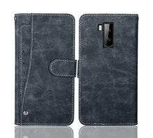 Ulefone Armor X5 – étui portefeuille de luxe en cuir à rabat Vintage, 5.5 pouces, étui pour téléphone, sac d'affaires, housse de protection avec fentes pour cartes avant