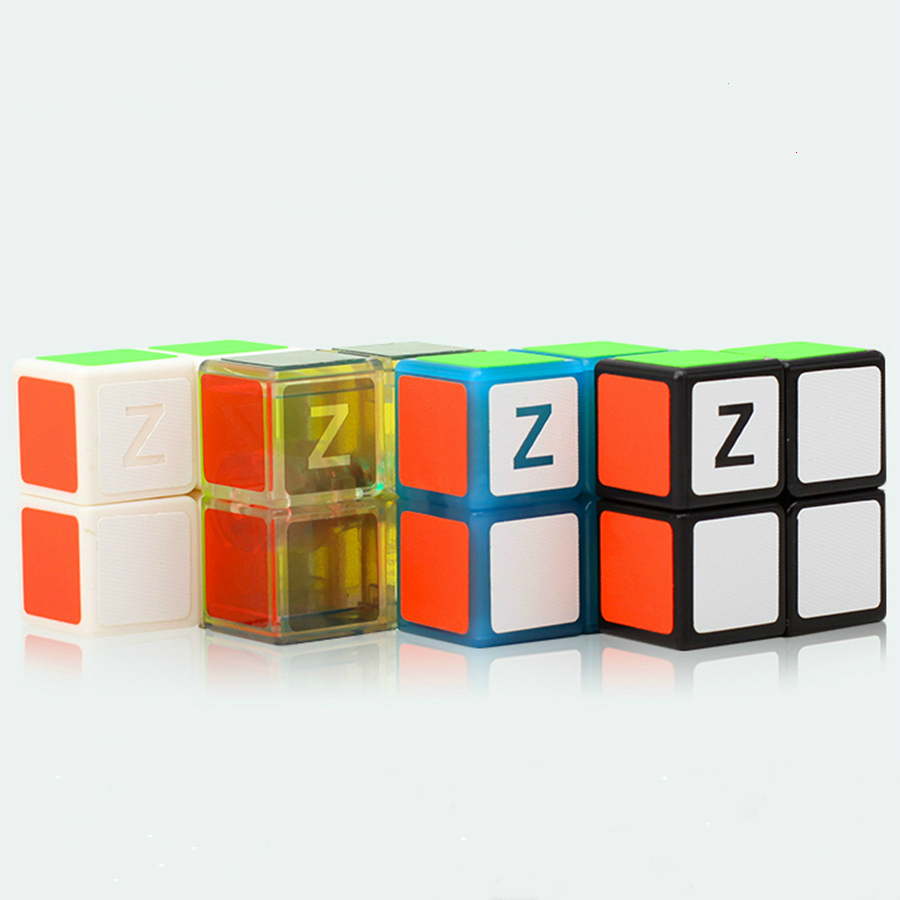 Zcube 1x2x2 Six Colour Professional Speed Rubiked Cube Competition Stickers Fidgets Magic Cube Children's Christmas Technic Toys