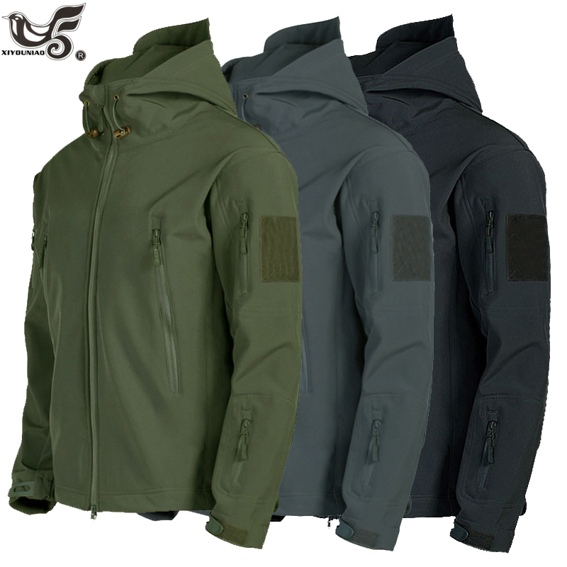 New Lurker Shark Skin Soft Shell V5 Military Tactical Jacket Men Waterproof Windproof Soft Shell Windbreaker Army Coats