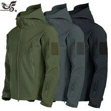 New Lurker Shark Skin Soft Shell V5 Military Tactical Jacket Men Waterproof Wind