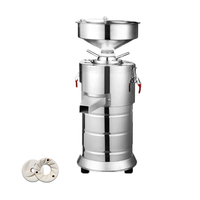 Jamielin Commercial Sesame Sauce Machine Peanut Butter Machine Electric Small Automatic Grinder Pulping Machine