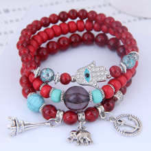 Special Offer European and American fashion trends concise multi-element pendant multi-layer temperament Bracelet