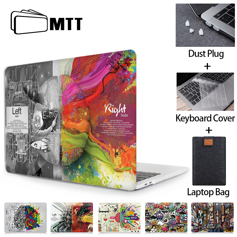 MTT Graffiti Case For Macbook Air 11 13 Pro 12 13 15 16 With Touch Bar 2020 Cover For Macbook Air 13 Inch+Laptop Bag A2179 A2289