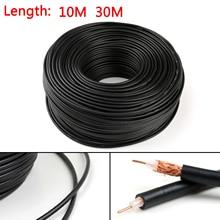 Areyourshop RG58 kabel koncentryczny RF złącze 50ohm Coax Transceiver Pigtail 10m 30m gorąca sprzedaż przewody kabel