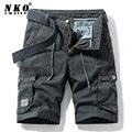 CHAIFENKO 2021 Sommer Neue Baumwolle Cargo-Shorts Männer Casual Multi-Pocket Military Shorts Hosen Lose Arbeit Armee Taktische Shorts männer