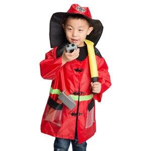 Image 2 - Umorden Disfraz de astronauta para niños, Doctor, enfermera, bombero, juego de rol, conjunto para niños y niñas, vestido de fiesta de fantasía