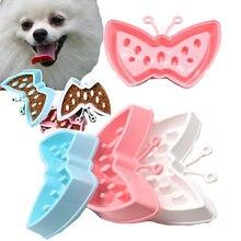 НОВАЯ переносная Миска Для Кормления Собаки в форме бабочки
