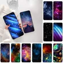 Espaço colorido para galaxy universo diy caso telefone de luxo para vivo y91c y17 y51 y67 y55 y93 y81s y19 v17 vivos5