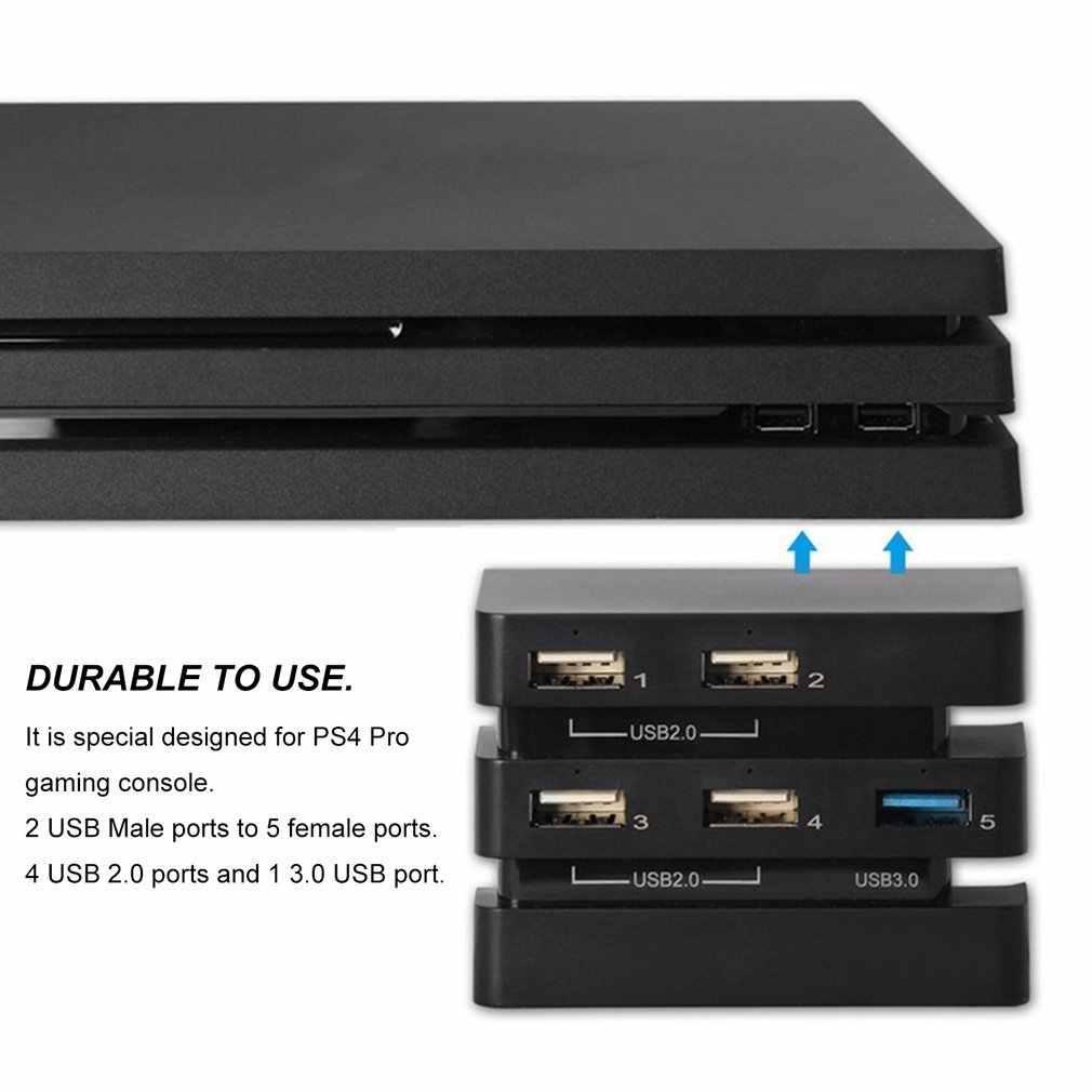Профессиональный 2 до 5 концентратор Высокоскоростной USB 3,0 2,0 удлинитель концентратора адаптер консоль аксессуары для PlayStation4 PS4 Pro игровая консоль