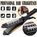 Выпрямитель для волос паровой утюг с четырьмя зубьями выпрямление волос турмалин керамический Профессиональный Выпрямитель для волос инс...