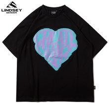 Линдси сидер 2021 Мужская футболка в стиле «хип хоп» с коротким