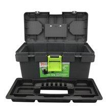 Бытовой пластиковый ящик для инструментов, приемная коробка, автомобильный чемодан, металлические изделия для обслуживания, набор инструментов, серия Seiko 14 дюймов