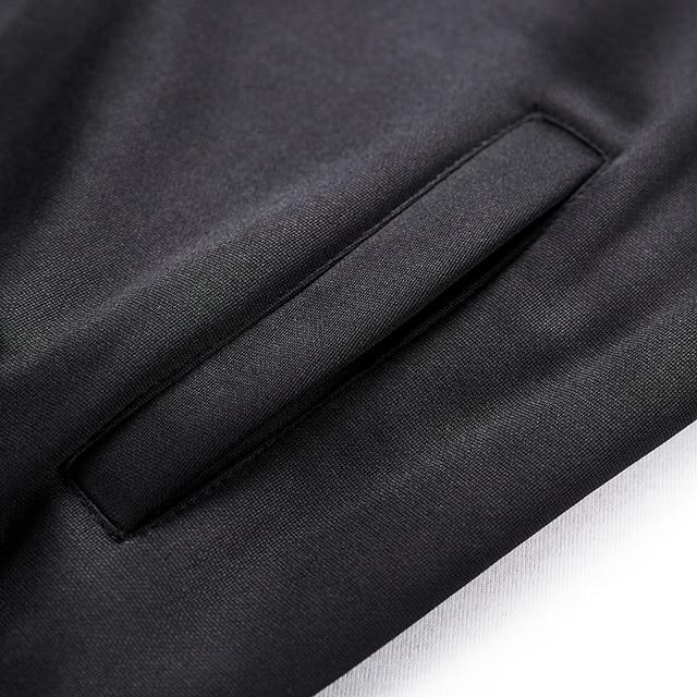 Tracksuits Men Polyester Sweatshirt Sporting Fleece Gyms Autumn Jacket + Pants+sweatershirt Casual Men's Suit Sportswear Fitness 6