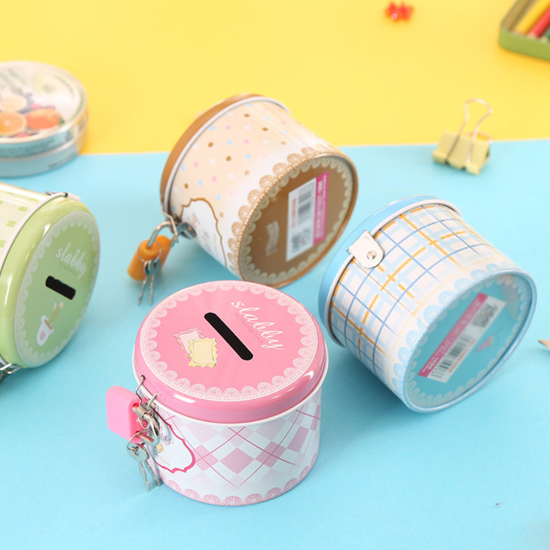 Packing-Boxes Storage Jewelry Earphones Gift-Box Coins Piggy-Bank Candy-Earrings Mini Tin