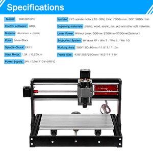 Image 5 - Laser graveur CNC Laser Stecher CNC Laser Cutter Gravur Maschine Laser Drucker DIY 3 Achse Pcb Fräsen Maschine