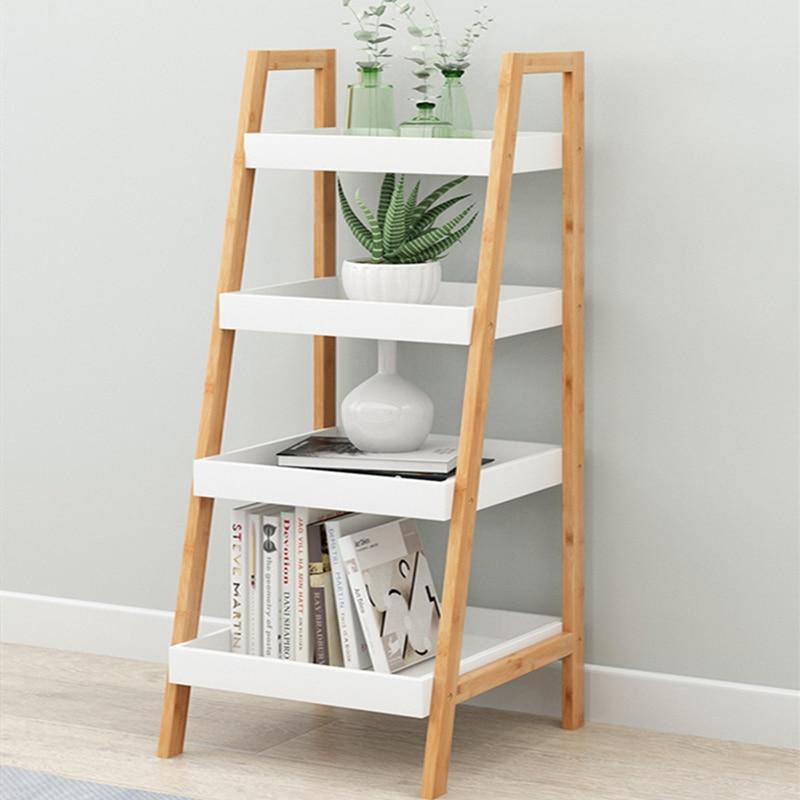 Ladder Shelf  Nordic Landing Floating Window Bathroom Living Room Bedroom  Multi-storey Storage Rack