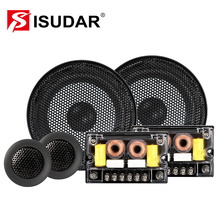 ISUDAR SU601 Car Component Speaker System 6.5 Inch 2 Way Vehicle Door Auto Audio Stereo