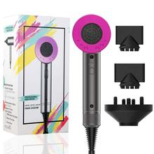 Hair Dryer Strong Wind Professional 3 in 1 Salon Dryer Hot &Cold ionic Air Hammer Styling Tools Women Volume diffuser hairdryer