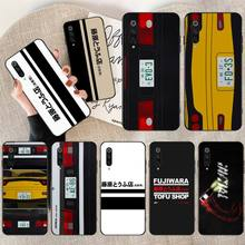 CUTEWANAN INITIAL D AE86 DIY Painted Bling Phone Case for Redmi Note 8 8A 7 6 6A 5 5A 4 4X 4A Go Pro Plus Prime dynacord d 8a