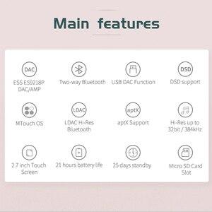 Image 2 - Shanling Q1 ES9218P dac/アンプ双方向 bluetooth ポータブル hifi オーディオ音楽プレーヤー MP3 サポート DSD128 PCM32bit/384 125khz ldac/aptx
