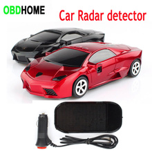 New Car Style Antiradar Mobile Speed Radar Detector Voice Alert Warning Device E Dog Recorder English Russian Radar Velocimeter