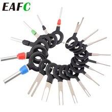 18Pcs 11Pcs Automotive Plug Terminal Remove Tool Set Key Pin Car Electrical Wire Crimp Connector Extractor Kit Car Accessories