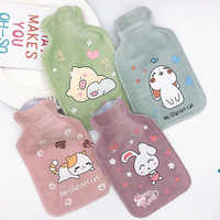 Water injection hot water bottle Student portable mini cartoon hand warmer