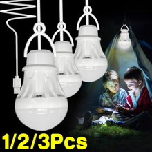 Portable LED Lantern Camping Lamp Book Light Mini Bulb 5V LED USB Power LED Reading Student Study Table Lamp Super Bright