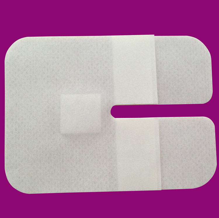 1pcs 6*8cm U Shape Catheter Fixed Stick Nonwoven Wound Dressing Surgical Pad Non Woven Disposable Filter Sheet Wound Care
