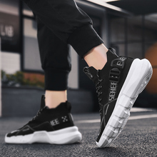 Men Fashion Sneakers Walking Shoes Loafers Breathable Man Tenis Trainers Shoes For Men Sports Running Casual Flat Board Shoes men tenis trainers running shoes man vulcanize shoes for men breathable flat board fashion sneakers