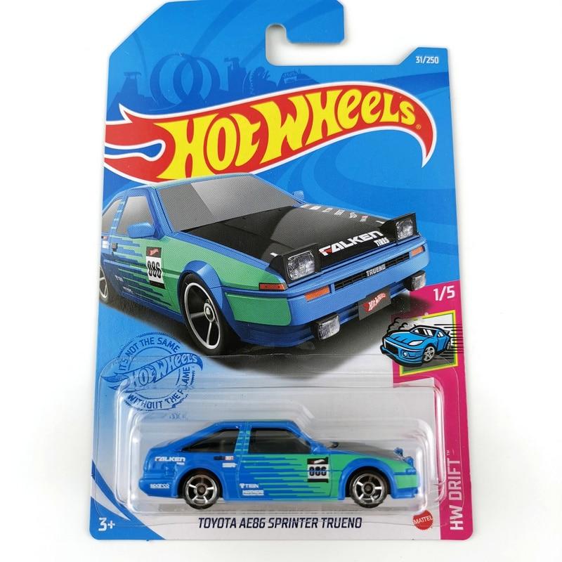 2021 rodas quentes carros NO.1-36 toyota ae86 jaguar nissan 300zx toyota 1/64 metal diecast modelo carro crianças brinquedos presente