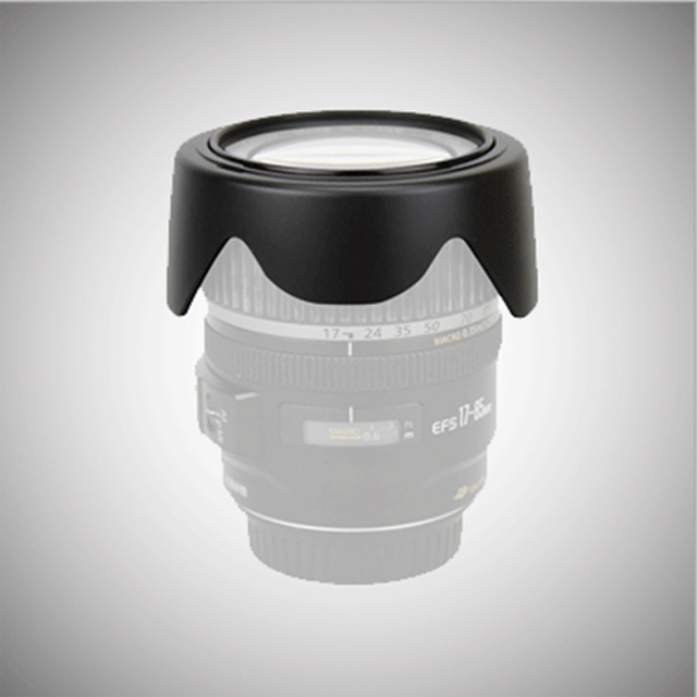 Photography Protective Camera Accessories Windproof Replacement Cover Portable Lens Hood for Canon EF M 15 45mm F/3.5 6.3 IS