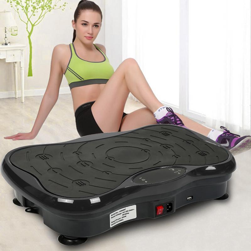 Permalink to Bluetooth Audio+USB European Regulation Vibrate Plate Weight Loss Combustion Fat Vibration Massager Fitness Equipment HWC