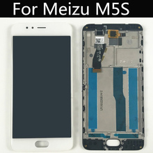 For Meizu M5s Meilan 5s M612Q,M612M LCD Display + Touch Screen + +frame+tools Digitizer Assembly Replacement Give glass film 100% geniune new lcd screen display touch digitizer for 5 2 meizu m5s meilan 5s white or black color free shipping