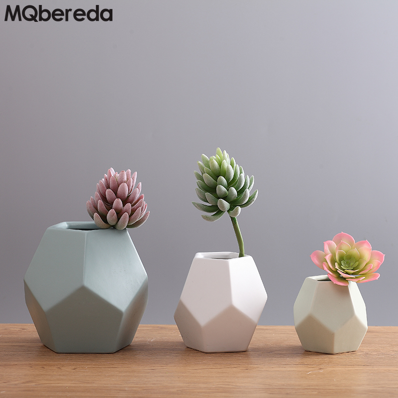 Creative Ceramic Flower Vases Nordic Floral Organ Sitting Room - Home Decor