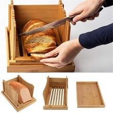 Creative Nordic style bamboo Breadboard Foldable Cutting board dessert Bread slice tray Baking supplies
