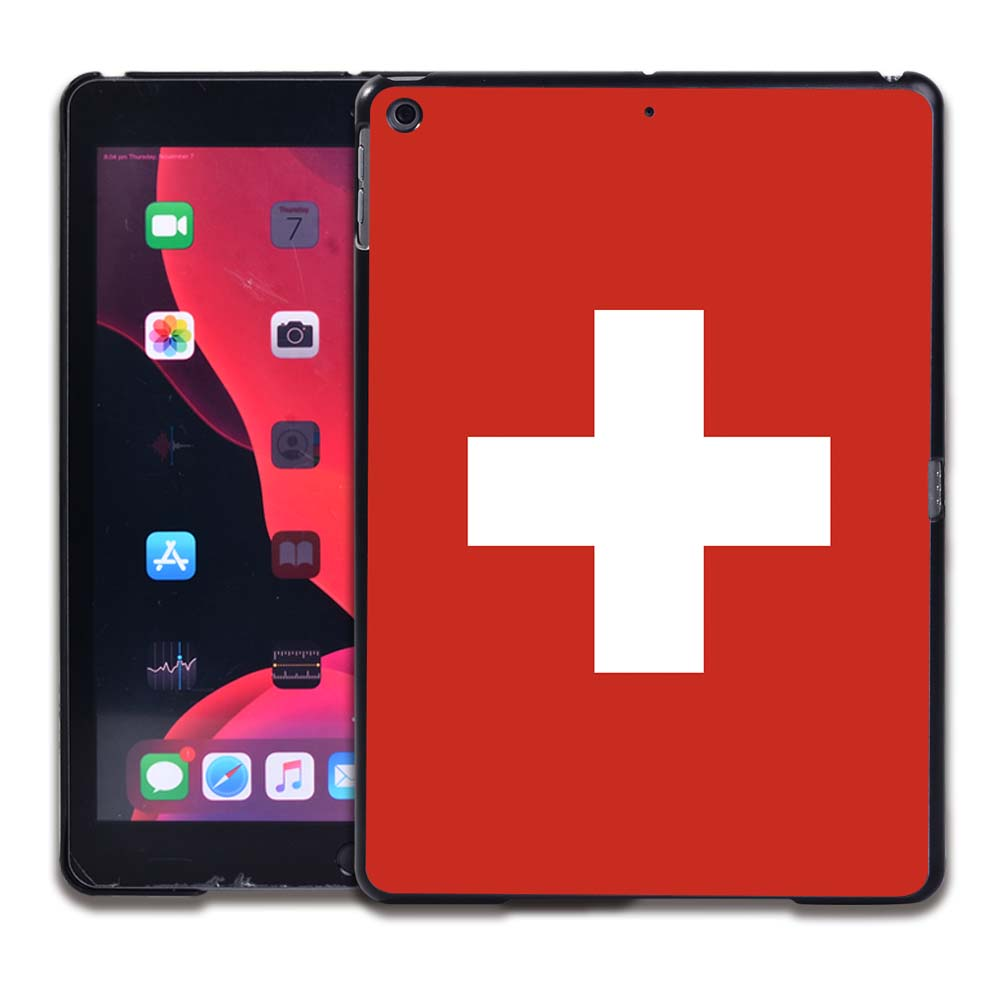 14.Swiss flag Gold Tablet Hard Back for Apple IPad 8 2020 8th Gen 10 2 A2270 A2428 Z2429 Z2430