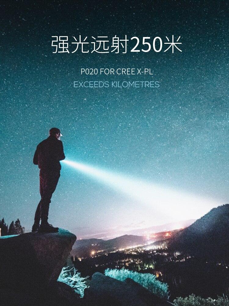 seguranca recarregavel foco ajustavel tatico flashligh linternas iluminacao portatil ec50sd 02