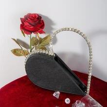 Toyoosky diamond сердце вечерний клатч Сумки для женщин 2020