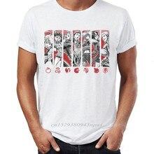 Camiseta con estampado de Seven Deadly Sins para hombre, camiseta para hombre con ropa informal diseño impreso estilo Hip Hop, ropa para hombre