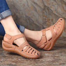 Summer Women's Sandals Shoes Ladies Comfortable Ankle Hollow Round Toe Sandals Soft Sole Shoes Fashion Sandalias Mujer 2020