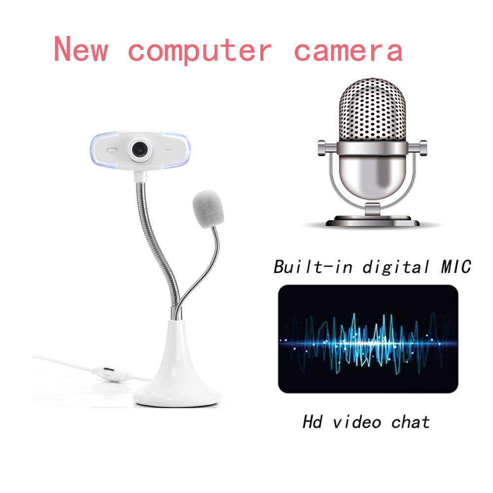 Webcam Network Learning Camera Free Drive HD Desktop Computer Notebook With Microphone Microphone Camera