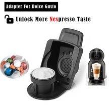 Adaptateur de mise à niveau pour Dolce Gusto avec support de transformation de Capsule Nespresso Original de dosettes jetables