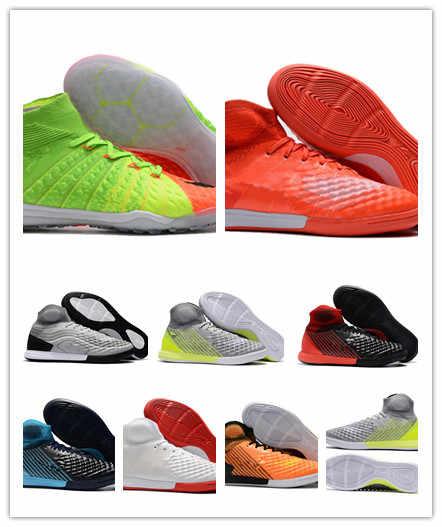 2017 original indoor soccer boots MagistaX Proximo II IC TF