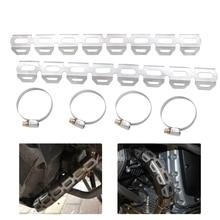 For BMW F650 F700 F800 GS F800GS F800gs F700GS F650GS F 800 700 650 GS 2008 Exhaust Muffler Pipe Protector Heat Shield Cover масляный фильтр для мотоциклов ahl 3pcs bmw f700gs f 700gs f700 gs f 700 gs 700