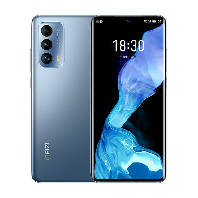 Original Meizu 18 Mobile Phone 6.2 Inch Screen 8GB+128GB Snapdragon 888 Octa Core Android 11 Fast Charging 36W NFC Smartphone 5
